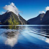 Nueva Zelanda con perro