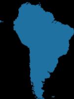 Perfil America del Sur con perro