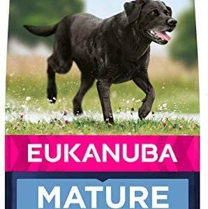 Eukanuba Comida seca para perros mayores de razas grandes con