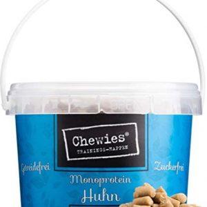 Chewies - Golosinas de Entrenamiento monoproteína para Perros, sin Cereales