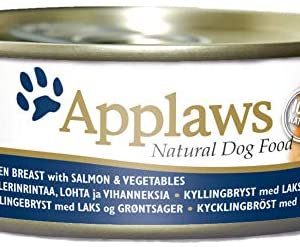 Applaws - Pollo con salmón y verduras comida para perros,