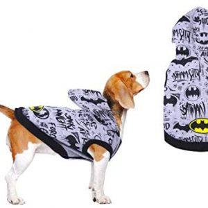 Batman Jersey para Perros Y Gatos, Sudadera con Capucha para