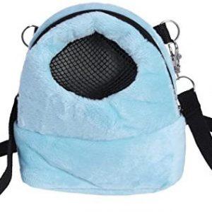 Bolsa de transporte para mascotas Hamster portátil transpirable bolsa de