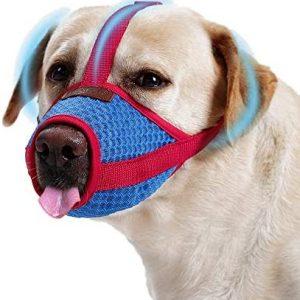 Bozal para Perros Grande Mediano Pequeño, Universal Muzzle Dog Respirable
