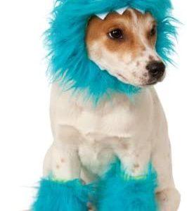 Disfraz para mascota - Monstruo de las galletas azul, perro