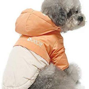 Dociote Abrigo para Perros pequeños, Perro Ropa para Invierno con