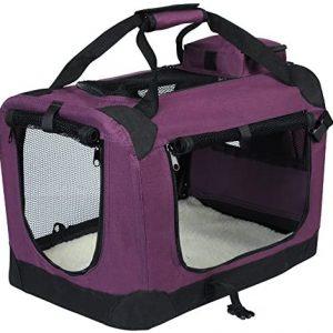 EUGAD Bolsa de Transporte para Mascotas Transportín de Mascotas Perros