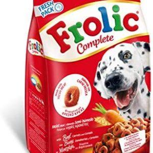 Frolic Pienso Semihúmedo para Perros Adultos Sabor Buey (Pack de
