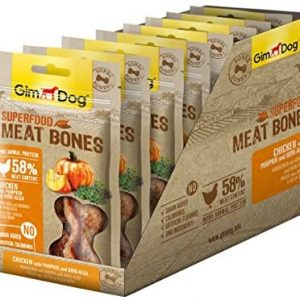 Gimdog superalimentos Meat Bones | luftgetrockneter Mono proteína Perros Snack