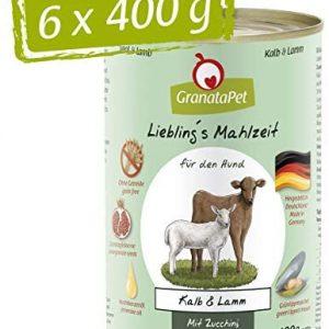 GranataPet Comida húmeda para Perros de Lieblings's con Ternera y