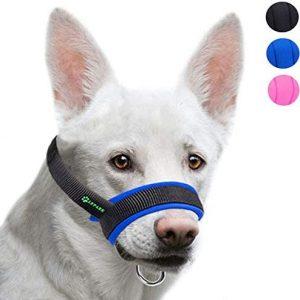 ILEPARK Bozal de la Tela para Perros Grandes Previene Mordidas,