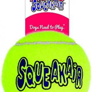 KONG Squeakair Ball - Pelota de Tenis Sonora para Perros