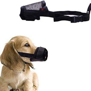 Maotrade Bozal para perro extra pequeño para evitar mordeduras ladridos,