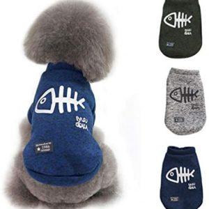 POPETPOP - Ropa cálida para perros y gatos, jersey de