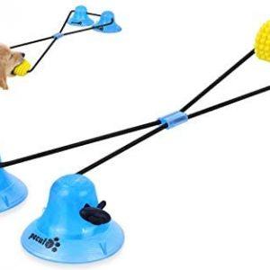 Pecute Juguete Masticable Interactivo para Perros, Pelota de Juguete para