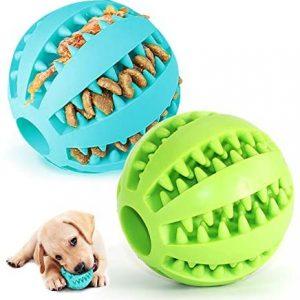 Pelota para Perros,Bola de Limpieza de Dientes Juguetes para Perros