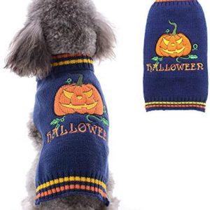 Petcare Halloween calabaza para mascotas perro jersey de vacaciones para