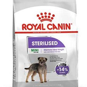 ROYAL CANIN Pienso Mini Sterilised para Perros Pequeños Esterilizados Saco