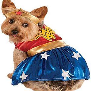 Rubies Disfraz Oficial de Wonder Woman para Perro, Talla Grande