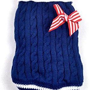 SMALLLEE_LUCKY_STORE Suéter Jersey Invierno de Punto de Cuello Alto con