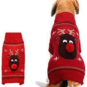 Snaked cat Jersey de Navidad para Mascotas, cálido, para Perro,