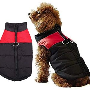 WELLXUNK® Abrigo De Invierno para Perro, Abrigo Perro Impermeable, Mascota