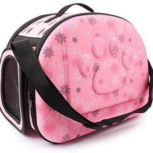 Yimidear Al Aire Libre Respirable Plegable Bolsa para Mascotas para