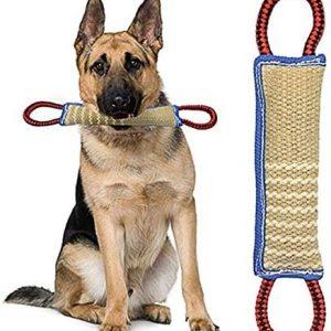ZSWQ Mordedor Perro Juguetes para Perros Mordedor Perro - K9
