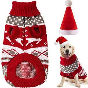 Disfraces de Navidad de Perros Ropa de Vacaciones de Mascotas