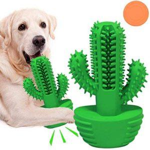 FONPOO Juguetes para Perros, 360 ° Cepillo de Dientes para