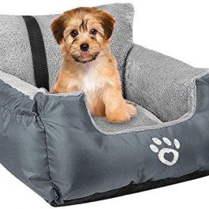 FRISTONE Asiento de coche para perros pequeños, asiento de seguridad