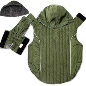 JoyDaog Sudadera con capucha para perros grandes, súper cálida, para