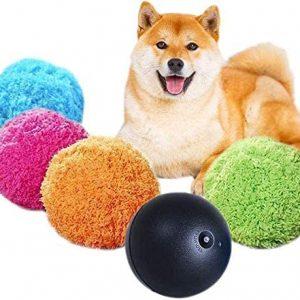 Juguetes para Mascotas Bola de Rodillo automática Segura Bola mágica