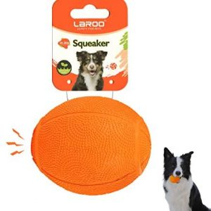 LaRoo Juguetes con Sonido para Perros, Juguetes Masticar Pelotas Durable