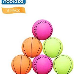 Nobleza - Pelotas Caucho Baloncesto, Tenis, Béisbol para Perros pequeños