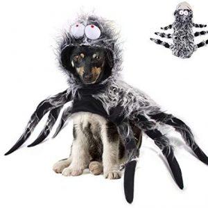 Okssud Disfraz de Araña para Halloween, Ropa de Cosplay para