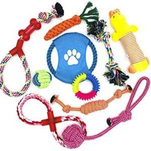 WeFine Juguetes para Perros, Cuerda para Masticar, Durable Juguete para