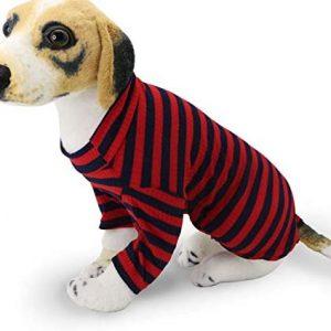 YAODHAOD Jersey de punto para perro, ropa de mascota, cómodo